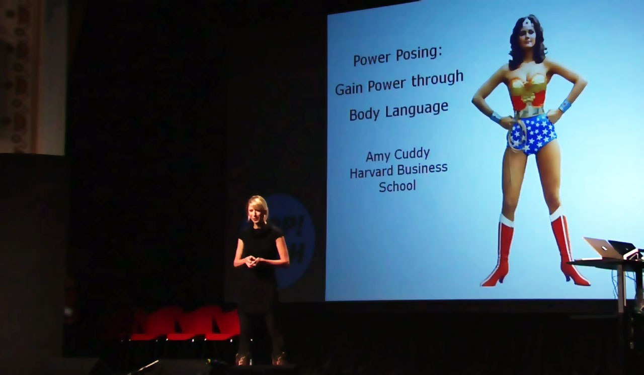 Amy Cuddy Confidence Pose in the face of Villains